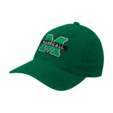 Kelly Green OttoFlex Unstructured Low Profile Hat-M Marshall