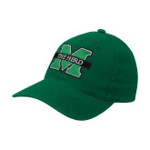 Kelly Green Flexfit Mid Profile Hat-M The Herd