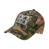 Mossy Oak Camo Structured Cap-M Marshall