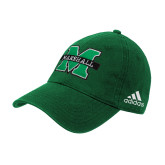 Adidas Kelly Green Slouch Unstructured Low Profile Hat-M Marshall