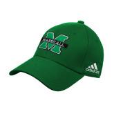 Adidas Kelly Green Structured Adjustable Hat-M Marshall