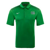NIKE Green Elite Coaches Polo-