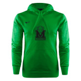 NIKE Green KO Chain Fleece Hoody-