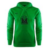 NIKE Green KO Chain Fleece Hoody-