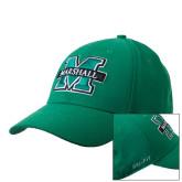 NIKE Kelly Green Swoosh Flex Hat-