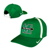 NIKE Youth Kelly Green Sideline Aero Coaches Cap-