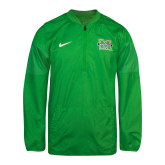 NIKE Kelly Green Sideline Lockdown Jacket-
