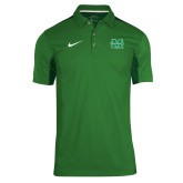 NIKE Kelly Green Sideline Team Issue Polo-