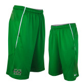 NIKE Kelly Green Sideline Fly XL 5.0 Shorts-