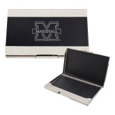 Bey Berk Carbon Fiber Business Card Holder-M Marshall Engraved