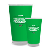 Full Color Glass 17oz-2018 Mens Basketball Champions - Brush
