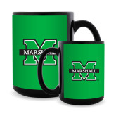 Full Color Black Mug 15oz-M Marshall