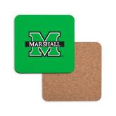 Hardboard Coaster w/Cork Backing-M Marshall