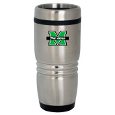 Rolling Ridges Silver Stainless Tumbler 16oz-M The Herd