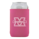 Collapsible Hot Pink Can Holder-M Marshall