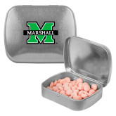 Silver Rectangular Peppermint Tin-M Marshall