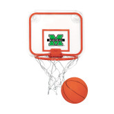 Mini Basketball & Hoop Set-M Marshall