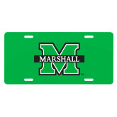 License Plate-M Marshall