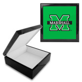 Ebony Black Accessory Box With 6 x 6 Tile-M Marshall
