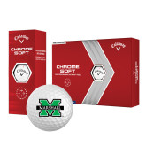 Callaway Chrome Soft Golf Balls 12/pkg-M Marshall