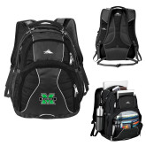 High Sierra Swerve Black Compu Backpack-M Marshall