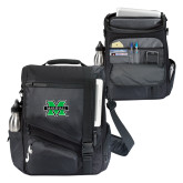 Momentum Black Computer Messenger Bag-M Marshall