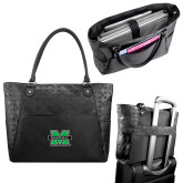Sophia Checkpoint Friendly Black Compu Tote-M Marshall