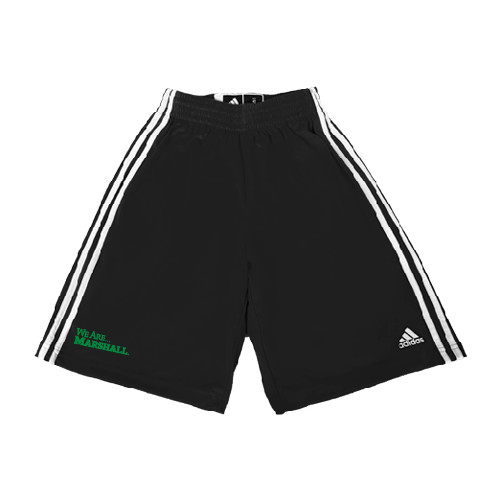 Practice Gear: Adidas Climalite We Are Marshall Practice Shorts - Black