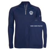 Under Armour Navy Tech 1/4 Zip Performance Shirt-Leighton School of Nursing