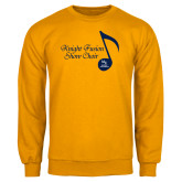 Gold Fleece Crew-Knight Fusion Show Choir Music Note