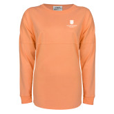 Coral Game Day Jersey Tee-SJI Stacked