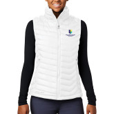 Columbia Lake 22 Ladies White Vest-SJI Stacked