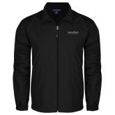 Full Zip Black Wind Jacket-COM Alt