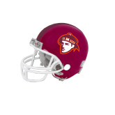 Riddell Replica Maroon Mini Helmet-Scot Head