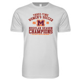 Next Level SoftStyle White T Shirt-2019 Womens Soccer Champions