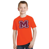 Youth Orange T Shirt-Primary Logo