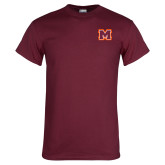 Maroon T Shirt-Primary Logo