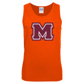 Orange Tank Top-Primary Logo