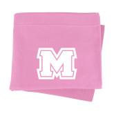 Pink Sweatshirt Blanket-Primary Logo