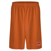 Performance Classic Orange 9 Inch Short-Primary Logo