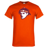 Orange T Shirt-Scot Head