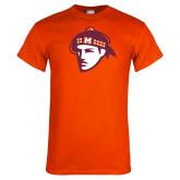 Orange T Shirt-Scot Head