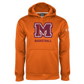 Under Armour Orange Performance Sweats Team Hoodie-Basketball