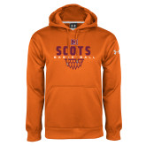 Under Armour Orange Performance Sweats Team Hoodie-Basketball Net