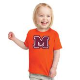 Toddler Orange T Shirt-Primary Logo