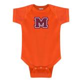Orange Infant Onesie-Primary Logo