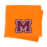 Orange Sweatshirt Blanket-Primary Logo