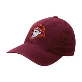 Maroon OttoFlex Unstructured Low Profile Hat-Scot Head