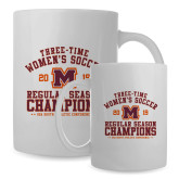 Full Color White Mug 15oz-2019 Womens Soccer Champions