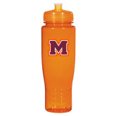 Spectrum Orange Sport Bottle 28oz-Primary Logo